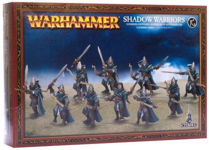 Warhammer High Elf Shadow Warriors / Sisters of Avelorn (10 figures, 2013) by Games Workshop
