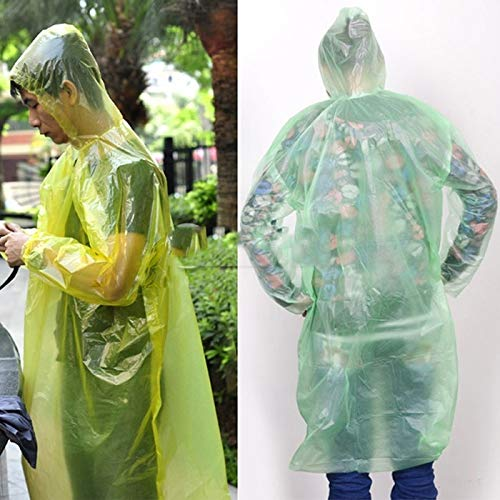 Disposal Raincoat - 1pcs Disposable Raincoat Adult Emergency Waterproof Hood Poncho Travel Camping Must Rain Coat Unisex - Sweater Women Knitted Looms Coat Patterns Book Lightweight Coated Knit D