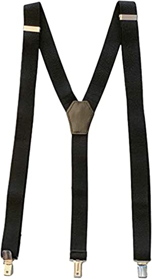 Fashion Gent Mens//Womens stretch Suspenders X-Braces Adjustable 4 Clip On NEW