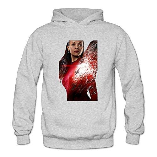 (Uhura Star Trek Beyond Women's Long Sleeve Hoodieds Ash US Size)