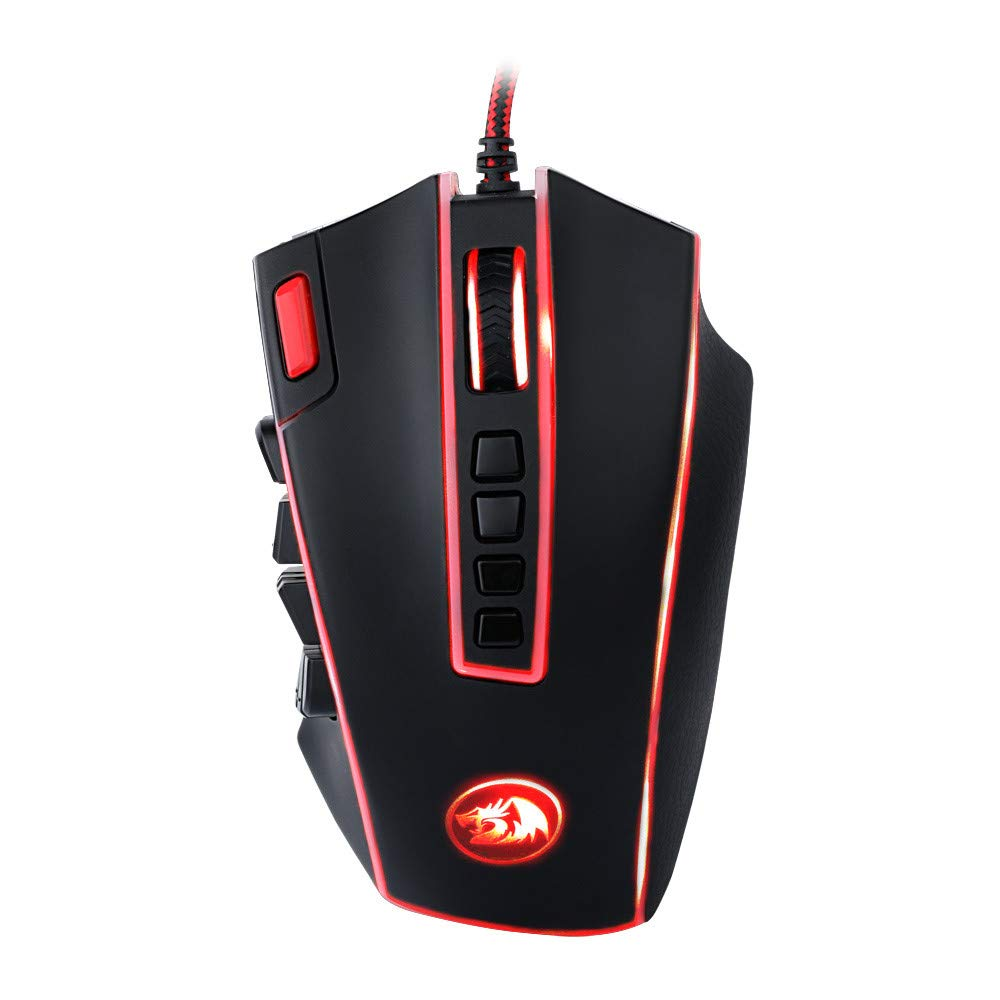 Mouse USB Wired RGB Programmable Game Ergonomic 25 Button Gaming 24000 DPI Mice AcisuHu