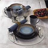 Pfaltzgraff 5239319 Monroe Blue 16-Piece Dinnerware