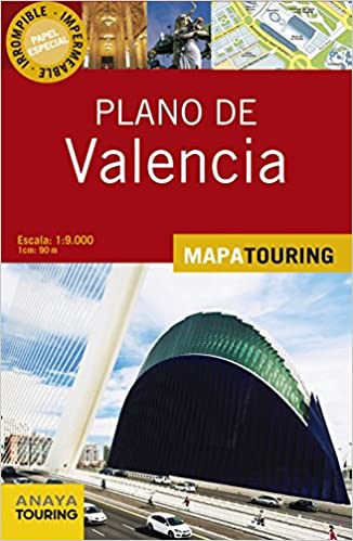 Plano Callejero De Valencia (Mapa Touring)