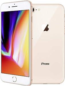 Apple iPhone 8, Boost Mobile, 64GB - Gold (Renewed)