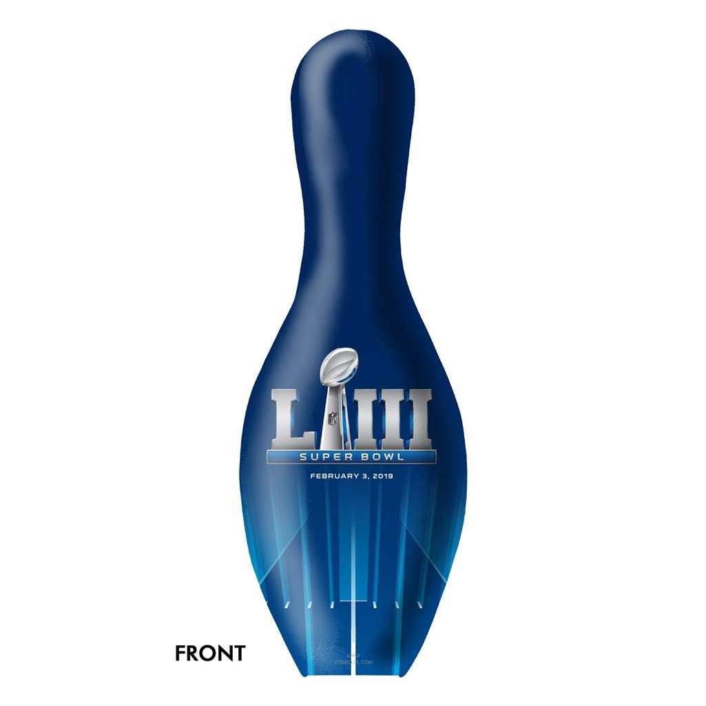 New England Patriots Super Bowl LIII Champions Bowling Pin
