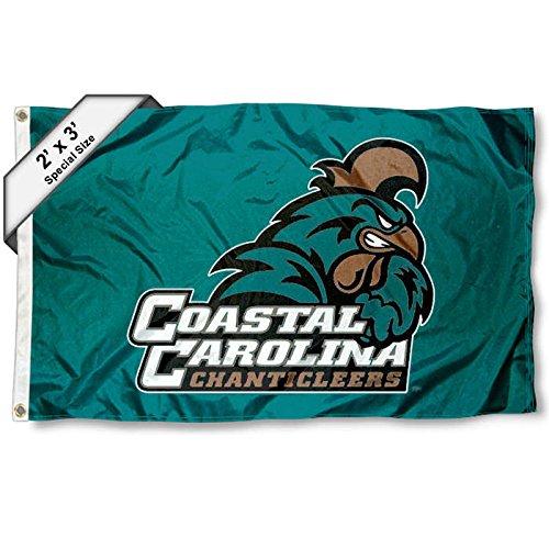Coastal Carolina Chanticleers 2x3 Foot Flag