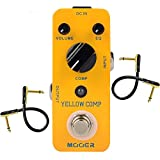 Mooer MCS2 Yellow Compression Effects Pedal With 2 Getaria Pedal...