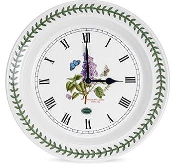 Portmeirion Botanic Garden Kitchen 10-inch Wall Clock