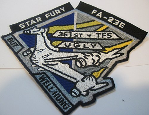 Babylon 5 TV Series Star Fury FA-23E Logo PATCH