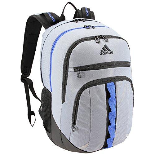 adidas Prime III Backpack, Grey/Blue/Black, One Size