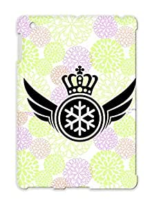Anti-scratch Queen Wings Crown Sports King Lord Snow Royal Snowboard Ski Winter Princess TPU Silver Cover Case For Ipad 4