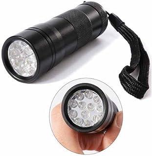 Kaxima Torcia LED Viola chiodo-Cured Ultravioletta Torcia elettrica, Torcia Mini