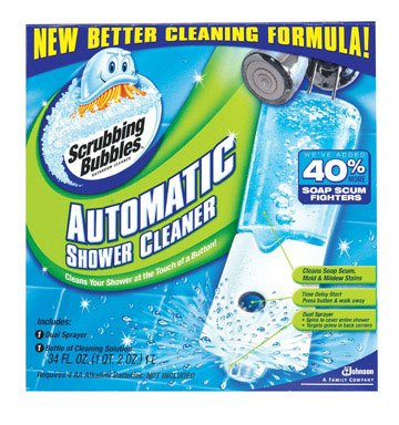 3 each: Scrubbing Bubbles Automatic Shower Cleaner Starter Kit (70164) by Johnson
