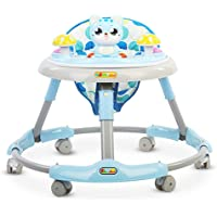TRYSHA Baby Walkers Baby Toddler First Steps Assistant Walkers for Girls from 6 Months Boys Girls from,Green Anti-Rollover Child Walker (Color : Blue)