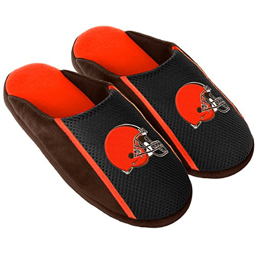 FOCO Cleveland Browns 2016 Jersey Slide Slipper Large by FOCO