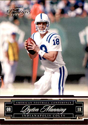 2007 Playoff Prestige #66 Peyton Manning INDIANAPOLIS COLTS TENNESSEE VOLUNTEERS