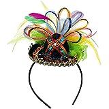 Amscan Cinco De Mayo Black Sequined Sombrero Headband  4311ecd5b6ad