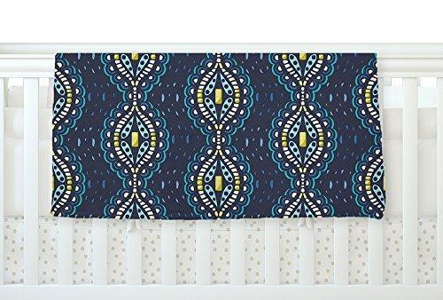 KESS InHouse Suzie Tremel Ogee Lace Navy Blue Fleece Baby Blanket 40 x 30 [並行輸入品]   B077YW9PP7