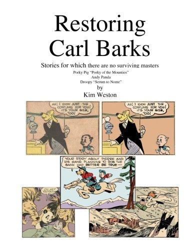 Restoring Carl Barks