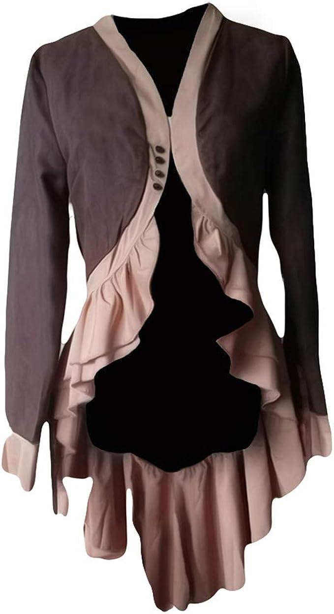 hibote Steampunk Barock Mantel Damen Gothic Viktorianische