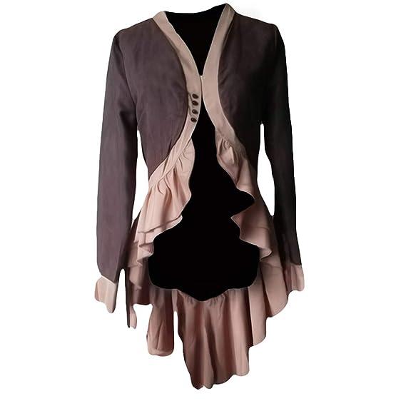 Mantel Steampunk Barock Gothic Damen Hibote Viktorianische pqUMVSzG