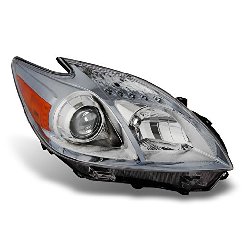 For 2010-2011 Toyota Prius Halogen Type Clear Front Headlight Passenger Right Side Head Lamp Replacement
