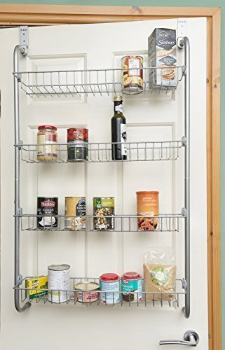 Bon DIRECT ONLINE HOUSEWAR 4 Tier Over Door Hanging Rack/Shelves For Pantry Or  Storage