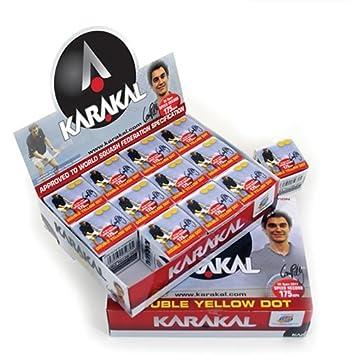 Karakal Squash Balls x 12 R