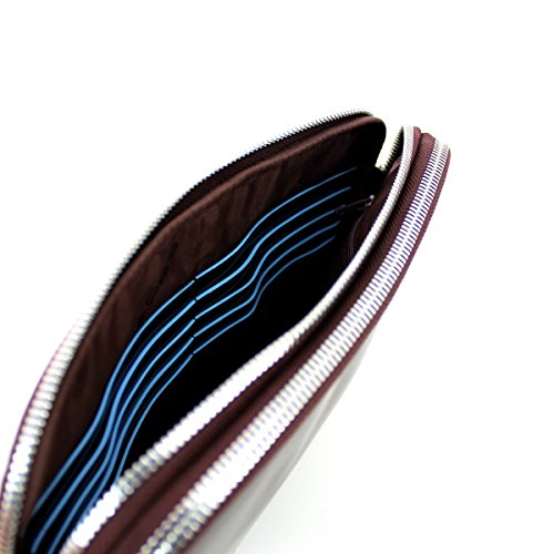 7c159337e6f POCHETTE DA POLSO PIQUADRO BLUE SQUARE MASCHILE CON LACCIO AC3944B2  (MOGANO): Amazon.it: Scarpe e borse