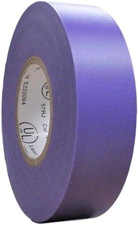 "1 Roll Purple Vinyl PVC Electrical Tape 3//4/"" x 66/' Flame Retardant Free Shipping"