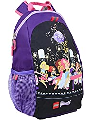 LEGO Friends Pop Star Heritage Basic Backpack, Black, One Size