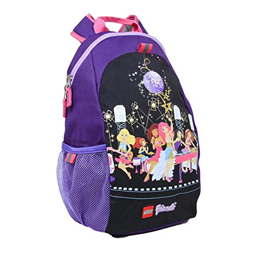 LEGO Friends Pop Star Heritage Basic Backpack, Black, One (Lego Kids Star)