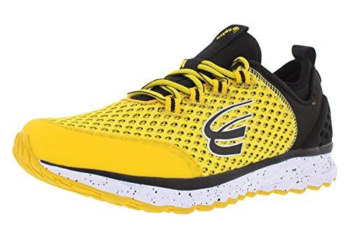 (Spira Phoenix Mens Running Shoes Gold/Black/White - 10.5 Medium)