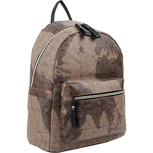 Copi Women's Modern Design World Map Collection Fashion Backpacks - Promenade Map Shops