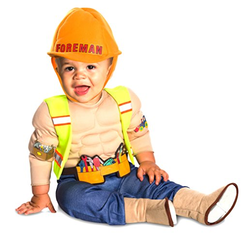 Rubie's LIL' Construction Worker Baby, Toddler]()