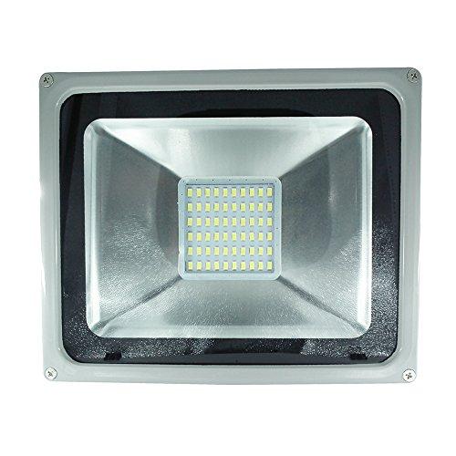*Top Leistung*10W 20W 30W 50W 100W 150W 200W 300W SMD 220V LED Fluter Strahler Beleuchtung Außenstrahler Innenstrahler Wandstrahler Wasserdicht IP65 kaltweiß (50W)