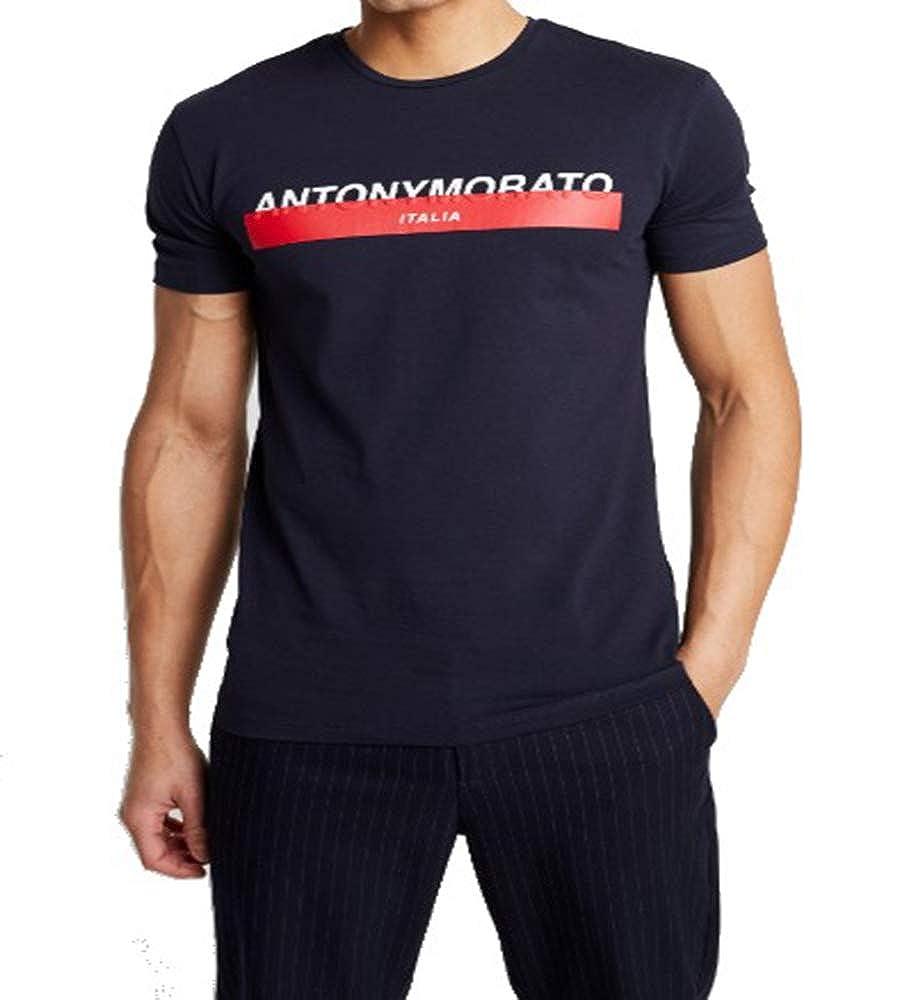 Antony Morato Camiseta Manga Corta para Hombre MMKS01716/FA120001 ...