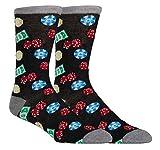 Zoo York Men's Novelty Casual Dress Socks, Crazy