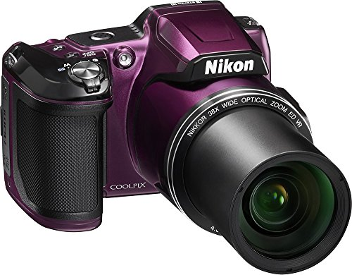 Nikon COOLPIX L840 160Megapixel Digital Camera with 76x dynamic fine zoom  38X optical zoom VR lens (40152mm) and builtin WiFi Plum (Certified  Refurbished) 929c0389165