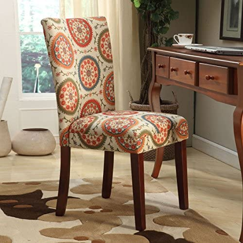 home, kitchen, furniture, kitchen, dining room furniture,  chairs 6 picture HomePop Parsons Upholstered Accent Dining Chair, Set of promotion
