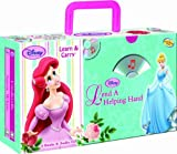 Disney Princess Lend a Helping Hand (4-book Learn & Carry pack with audio CD)