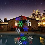 Happy Birthday Projector - Christmas Lights Led Projector For Best Christmas Party Decorations Birthday Holiday, Xaria Landscape Led projector Lamp Spotlight different Pattern for Home Garden