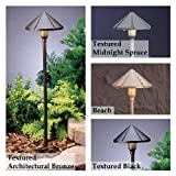 Kichler Lighting 15326AZT Six Groove Bronze Landscape Path Light