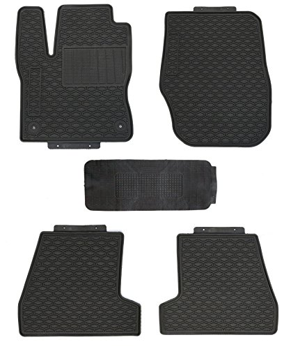 TMB Motorsports All Weather Floor Mats for Ford Ford Focus 2011+ ()