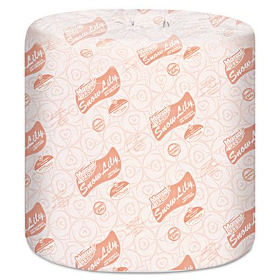 Lily Toilet (Marcal PRO Snow Lily 100% Recycled Bath Tissue, 2-Ply, White, 4.3 x 3.66,)
