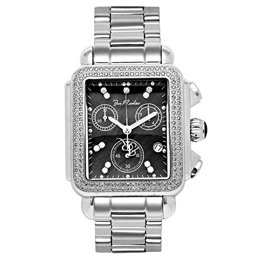 Joe Rodeo Diamond Ladies Watch - MADISON silver 1.5 ctw