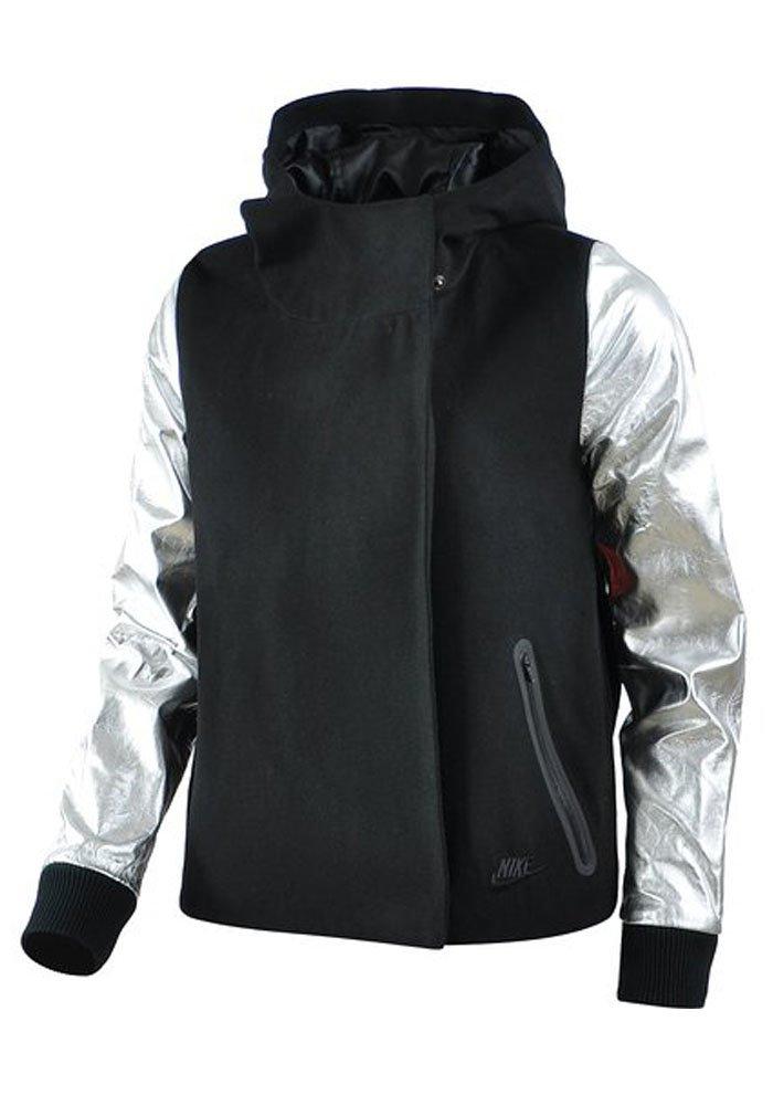 Nike Women's Destroyer Butterfly Jacket, Black/Matte Silver/Black (S)