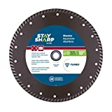 EAB Tool 2118894 10'' Turbo Bronze Diamond Blade - Recyclable,