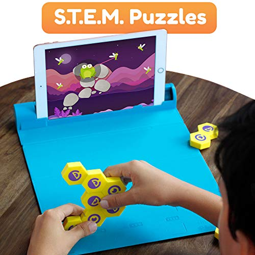 Shifu Plugo Link - Construction Kit with Puzzles, Augmented Reality Stem Toy | Fun Magnetic Building Blocks | Educational Engineering, Ages 5 - 10 Year Old Boys & Girls (iOS/ Samsung Devices)
