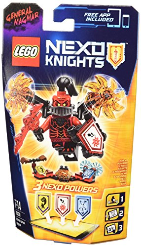 LEGO Nexoknights - 70338 - L'ultime Général Magmar